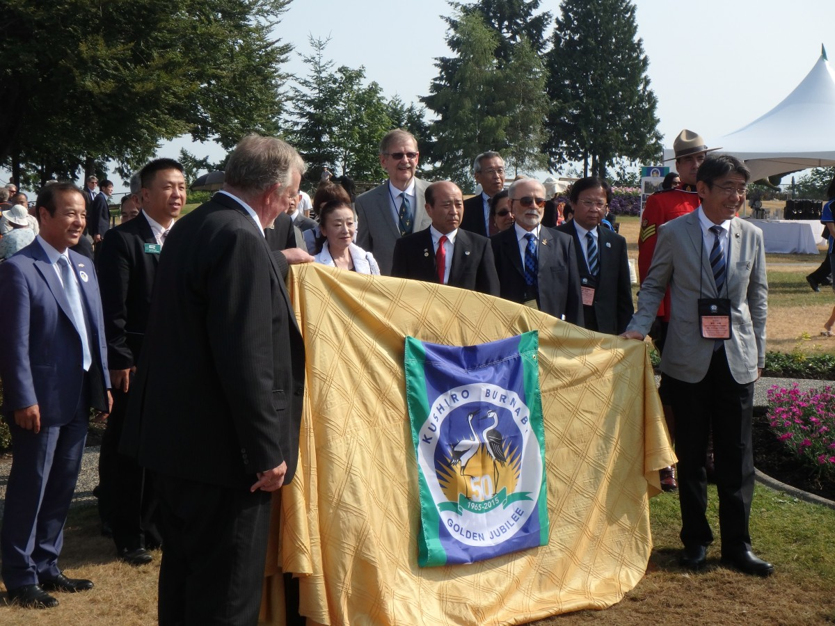 As part of the 50th anniversary celebrations, Burnaby hosted a delegation from Kushiro from July 7 to 11. The Nikkei Centre is planning some cultural activities and the 2015 Nikkei Matsuri, a family-friendly Japanese festival, will highlight the anniversary in its September 5 to 6 programming.
